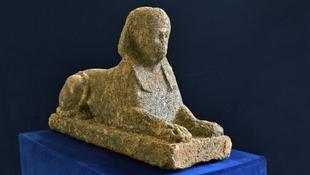 Megmenekült az ókori szfinx