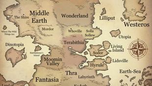 Előkerült a titokzatos világok térképe
