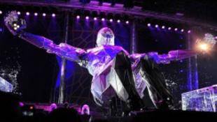 Koncert közben esett fogságba a két világsztár