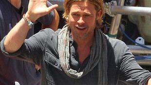 Saját gyártású filmmel jelentkezik Brad Pitt