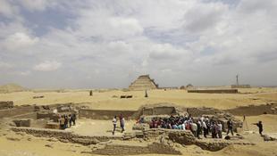 Királyi futár sírjára bukkantak Egyiptomban