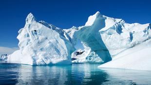 Óriási felfedezés a jég alatt