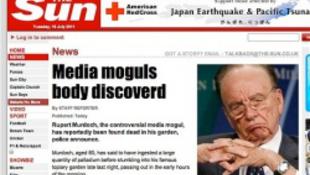 Kemény tréfa: Murdoch meghalt