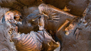 Kőkorszaki temetkezési helyet találtak