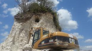 Ősi maja templomot romboltak le