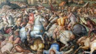 Leonardo-freskót rejthet a titkos fal