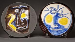 Évtizedek után kerültek elő Picasso kerámiái