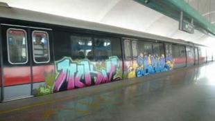 Botozás vár graffitiző svájcira Szingapúrban