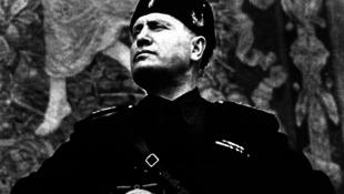 Előkerült egy Mussolini szereplésével készült film