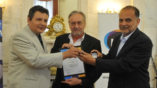 Varga Ferenc József kapta a Karinthy-gyűrűt