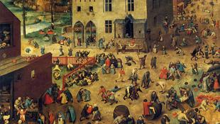 Megelevenedett Brueghel kép és Luca napi vigasságok