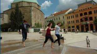 Jó hír Pécsről: végleg átadták a Széchenyi teret