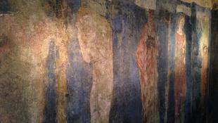 Rejtélyes freskóra bukkantak William Morris házában