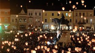 Mátyás királyt ünnepelték a kolozsváriak