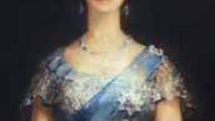 Ilyen a brit királynő hosszú nyakkal