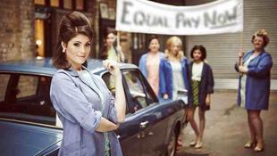 A sztrájkoló nők Londonban