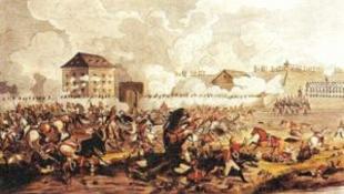 Fegyveres csetepaté Győr belvárosában