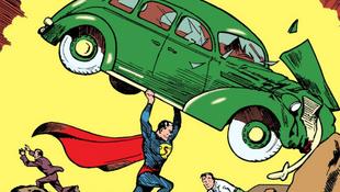 Első Superman-képregényt árvereznek el az interneten