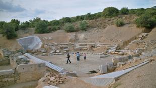 23 évszázad után újraépítenek egy görög színházat