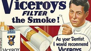 Tiltott reklámok a fénykorból