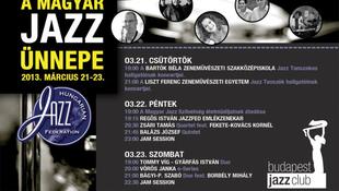 Színpadon a jazz nagyágyúi