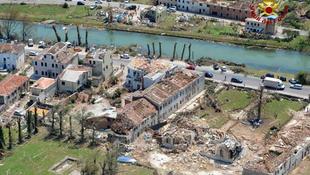 Sokkoló pusztítás történt a város mellett