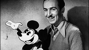 A mai napon született Walt Disney