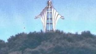 Kelet-Európa legnagyobb Krisztus szobra épül