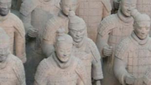 Kínai agyagkatonák vendégszereplése Európában