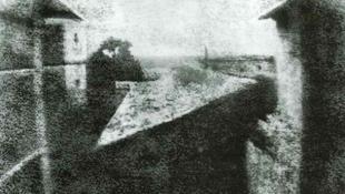 Ismét Európában a világ első fényképe