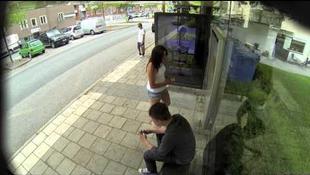 Így is lehet buszra várni