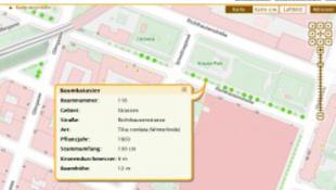 Bécsben már a fákat is digitalizálták
