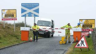 Születőben a skót-angol határ?