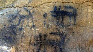 Ez lehet Amerika legősibb barlangfestménye