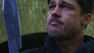 Brad Pitt vérre szomjazik