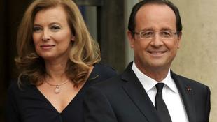 Könyvet írt Francois Hollande-ról a volt francia first lady