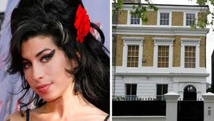 Kalapács alatt Amy Winehouse háza