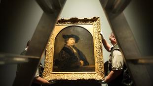 Budapestre érkezett a legendás Rembrandt-kép