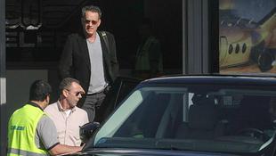 Budapesten látták Tom Hankset!
