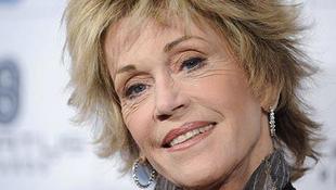 Átvette életműdíját Jane Fonda