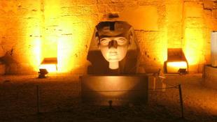 Értékes szoborfejeket találtak Egyiptomban