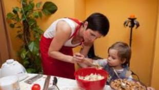 A hároméves is tud főzni