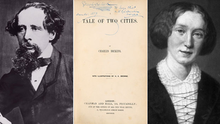 Dedikált Dickens-regényt árvereznek el