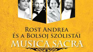 Nyerj jegyet Rost Andrea ünnepi koncertjére!