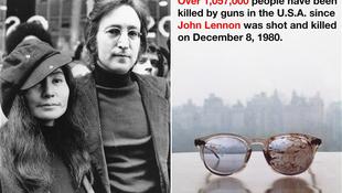 Yoko Ono a fegyverek ellen