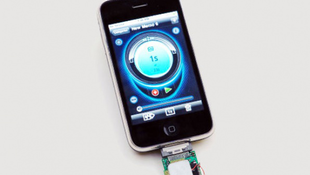 Utazik az űrbe az első iPhone