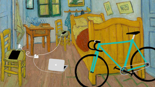 Modern technika a festményeken
