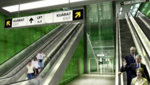 Már most megtekinthető a 4-es metró