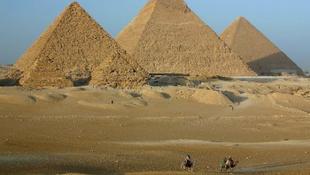 Egyiptomi óriást rejtett a föld Izraelben
