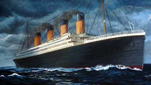 Újra vízen a Titanic